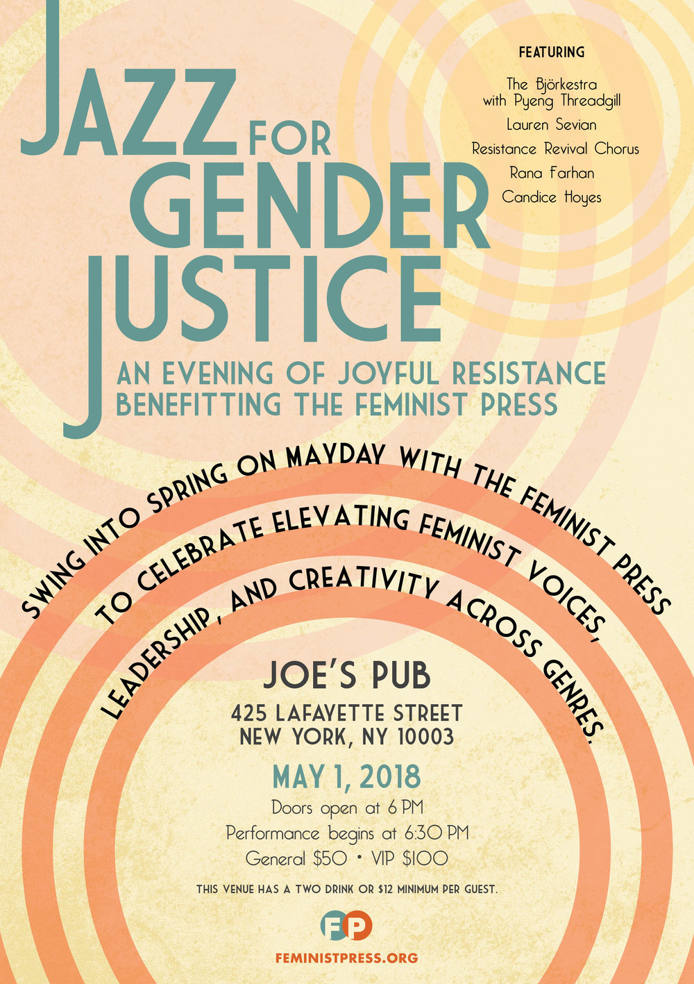 Bjorkestra at Jazz for Gender Justice